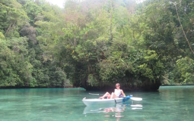 Welcome to Palau: A day of kayaking & snorkeling